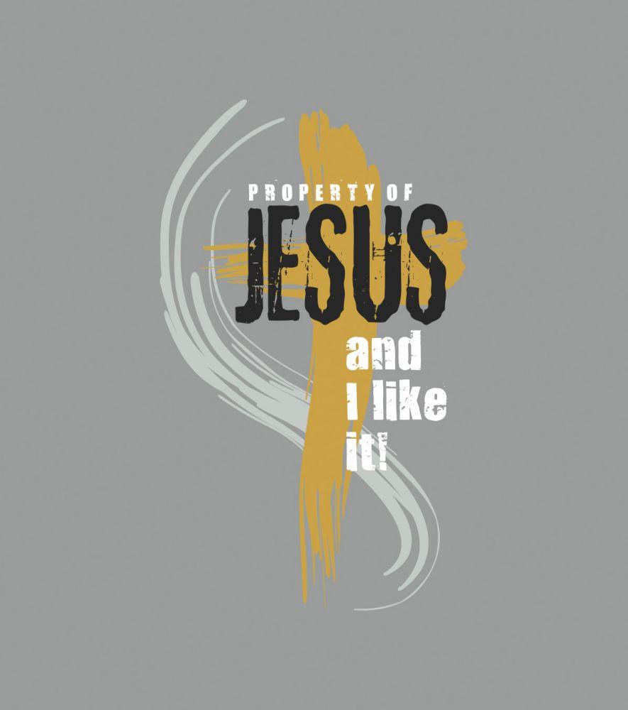 PROPERTY OF JESUS womens sleeveless (grey)