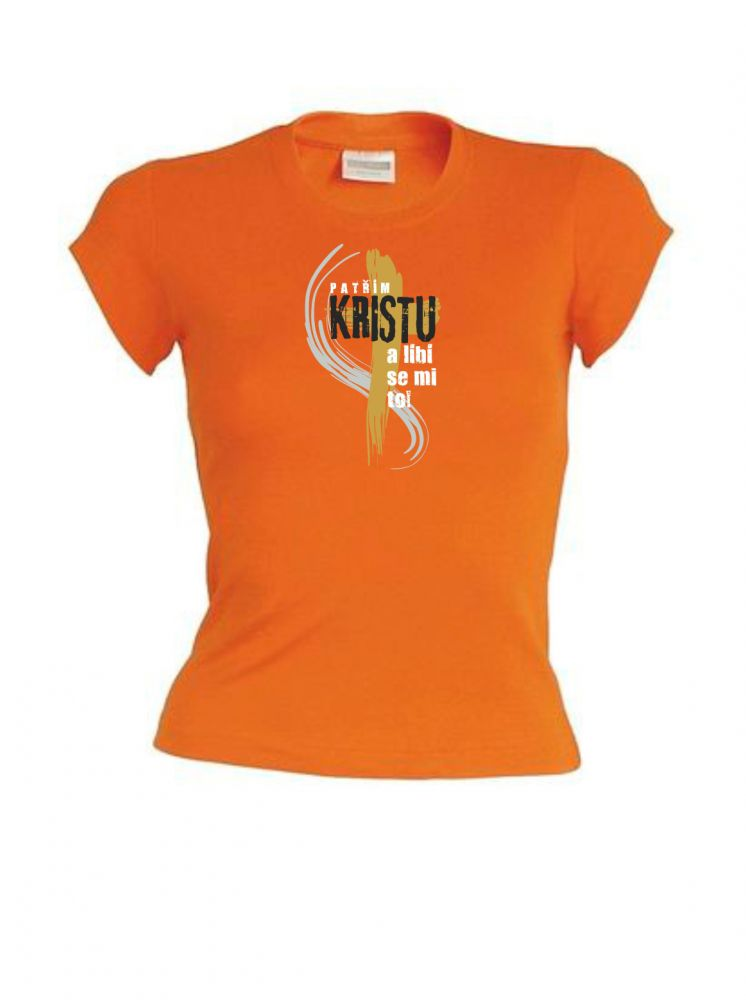 PATŘÍM KRISTU dámské triko oranžová