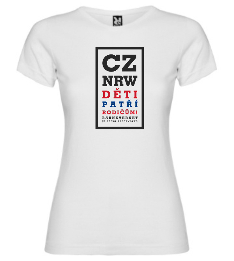KIDS BELONG TO PARENTS CZ womens (white)