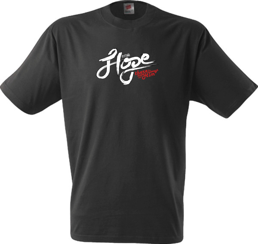 HOPE IN HIM (black)