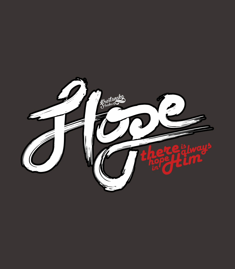 HOPE IN HIM womens (grey)
