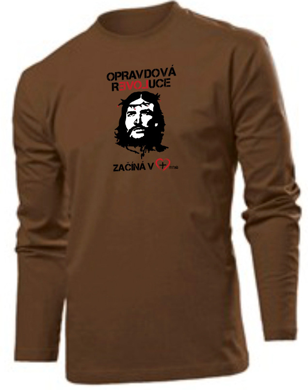 REAL REVOLUTION CZ (long sleeve brown)