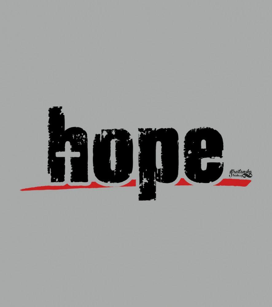 HOPE MIKINA PÁNSKÁ ŠEDÁ ŽÍHANÁ