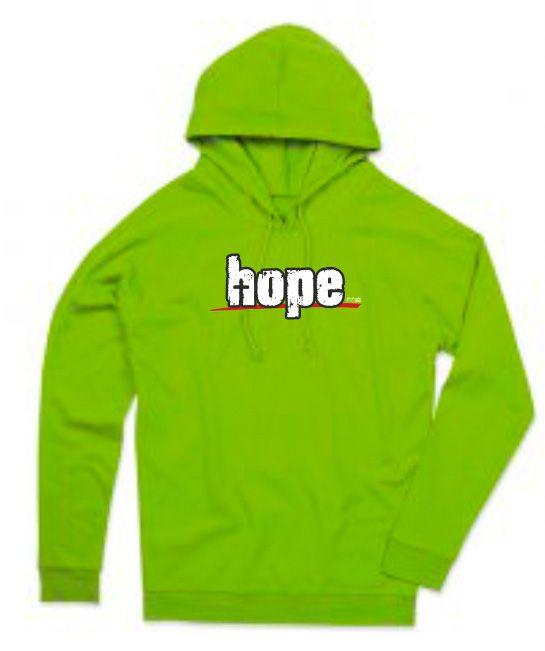 HOPE Mikina-pánská zelená