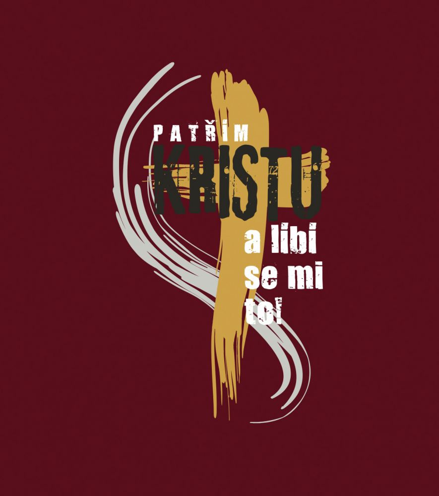 PATŘÍM KRISTU pánské triko granátová
