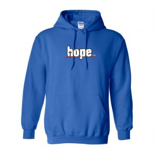 I BELONG TO CHRIST CZ mens hoodie (royal blue)