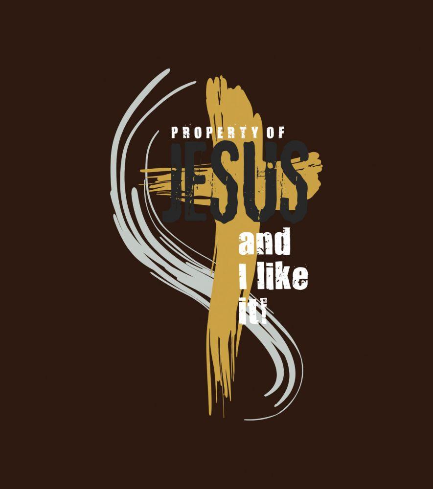 PROPERTY OF JESUS (chocolate)