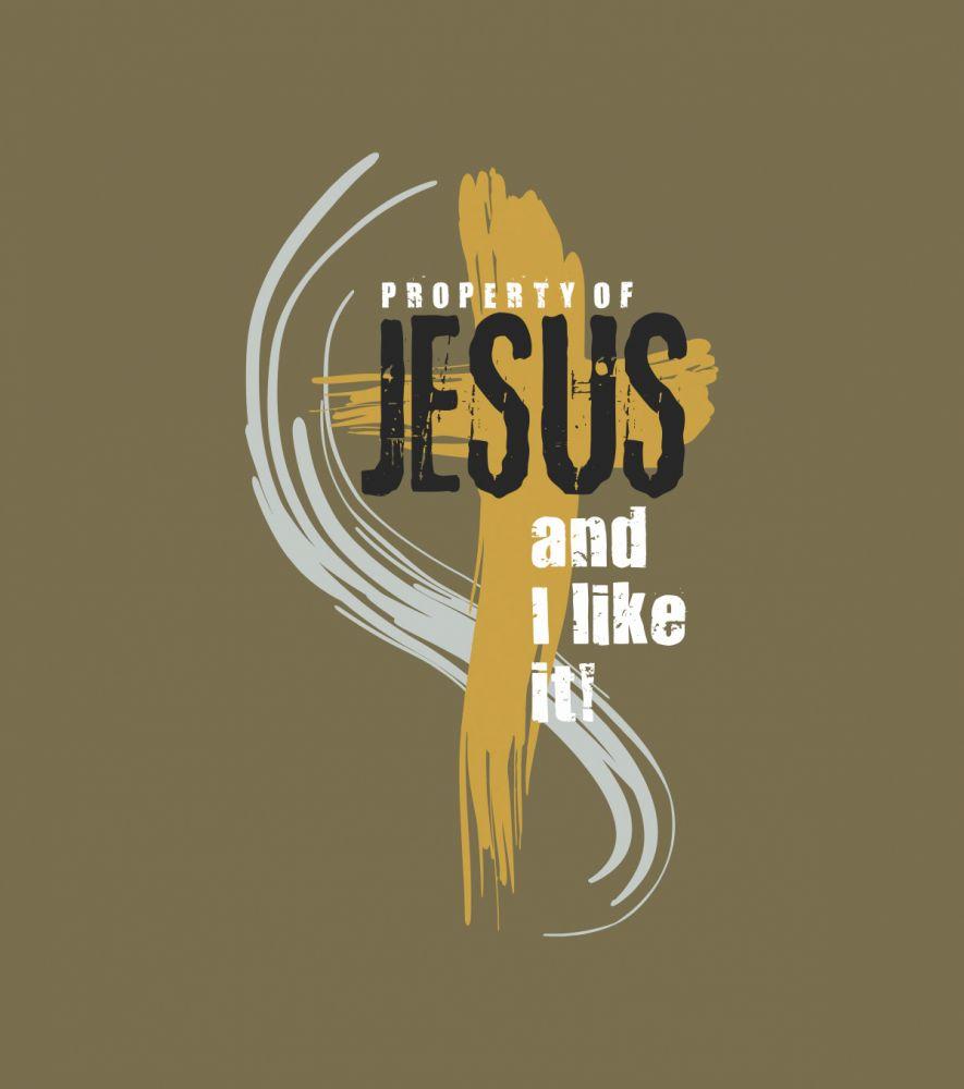 PROPERTY OF JESUS (walnut)