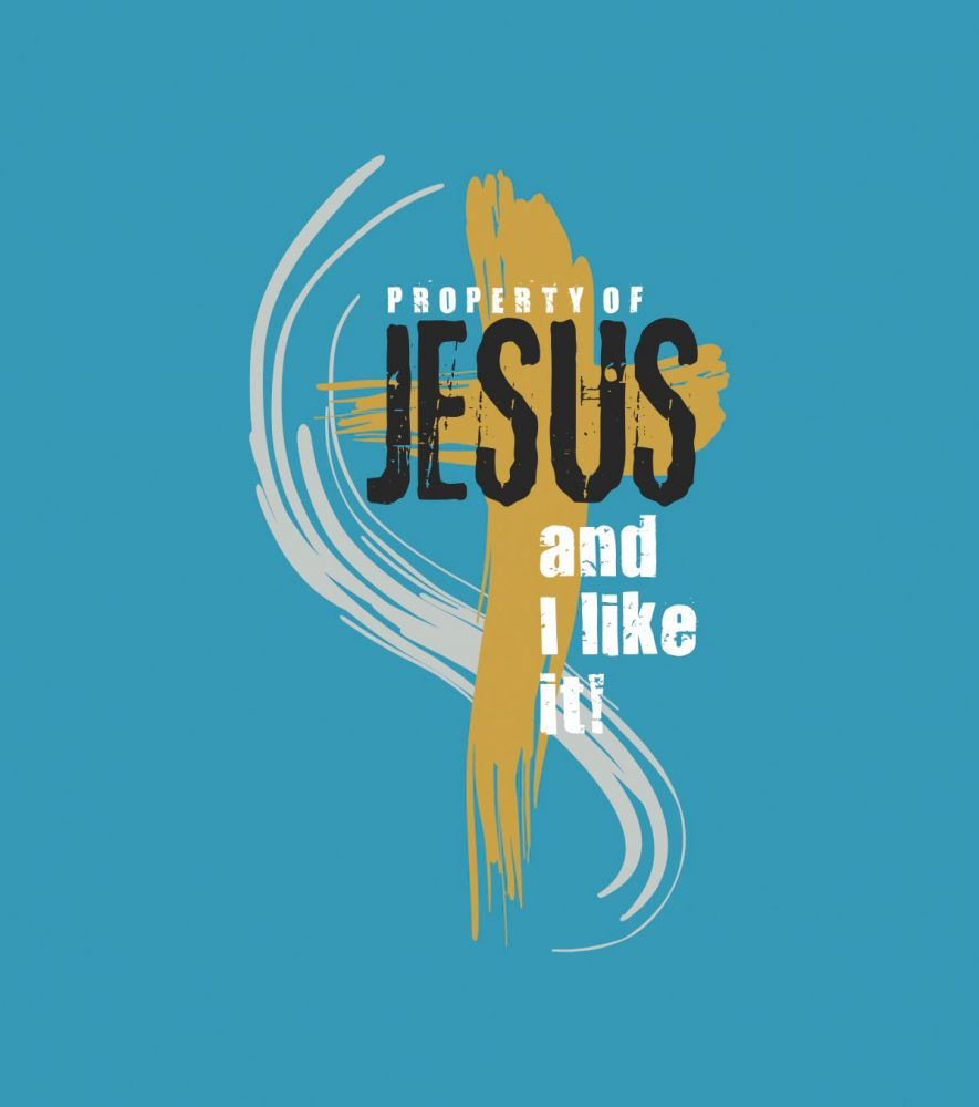 PROPERTY OF JESUS (turquoise)