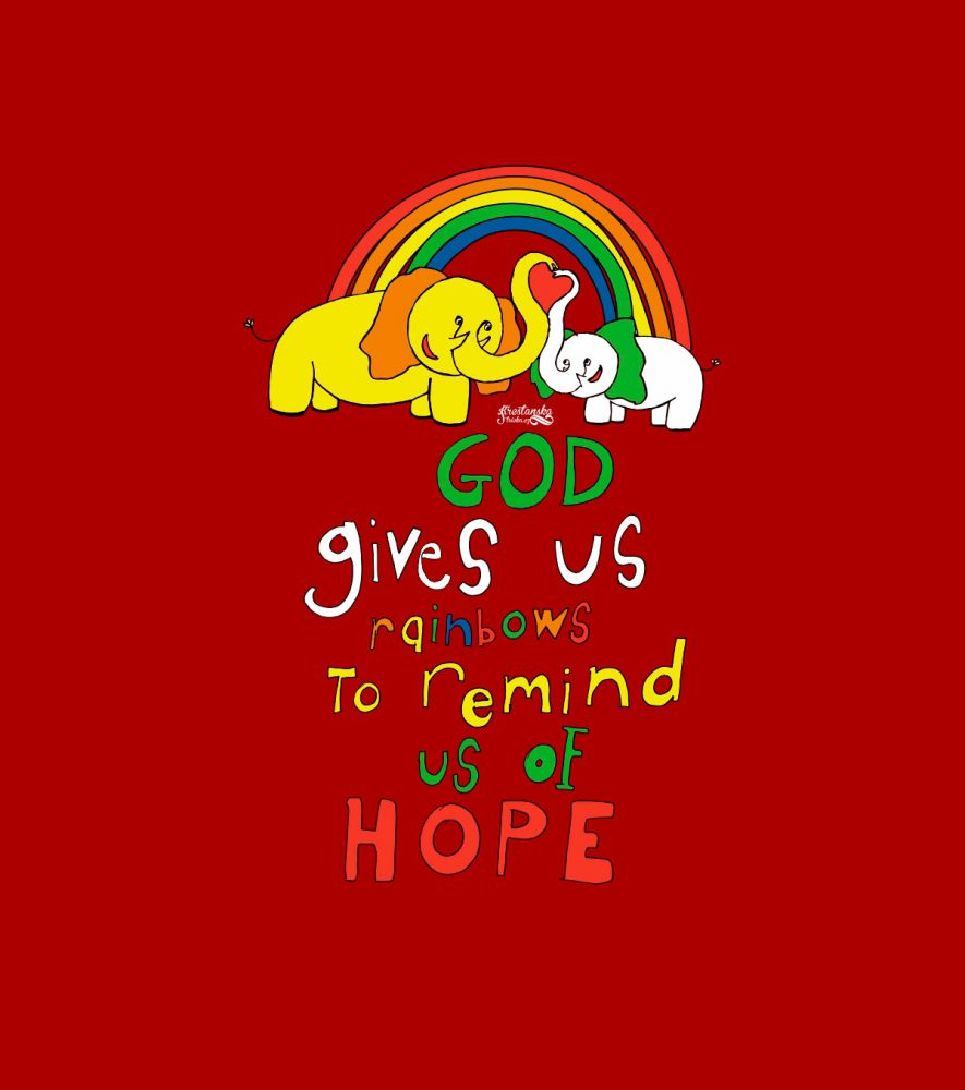 RAINBOWS kids (red)
