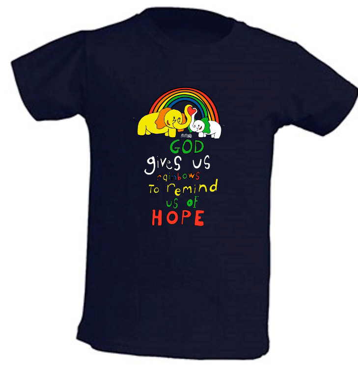 RAINBOWS kids (navy)