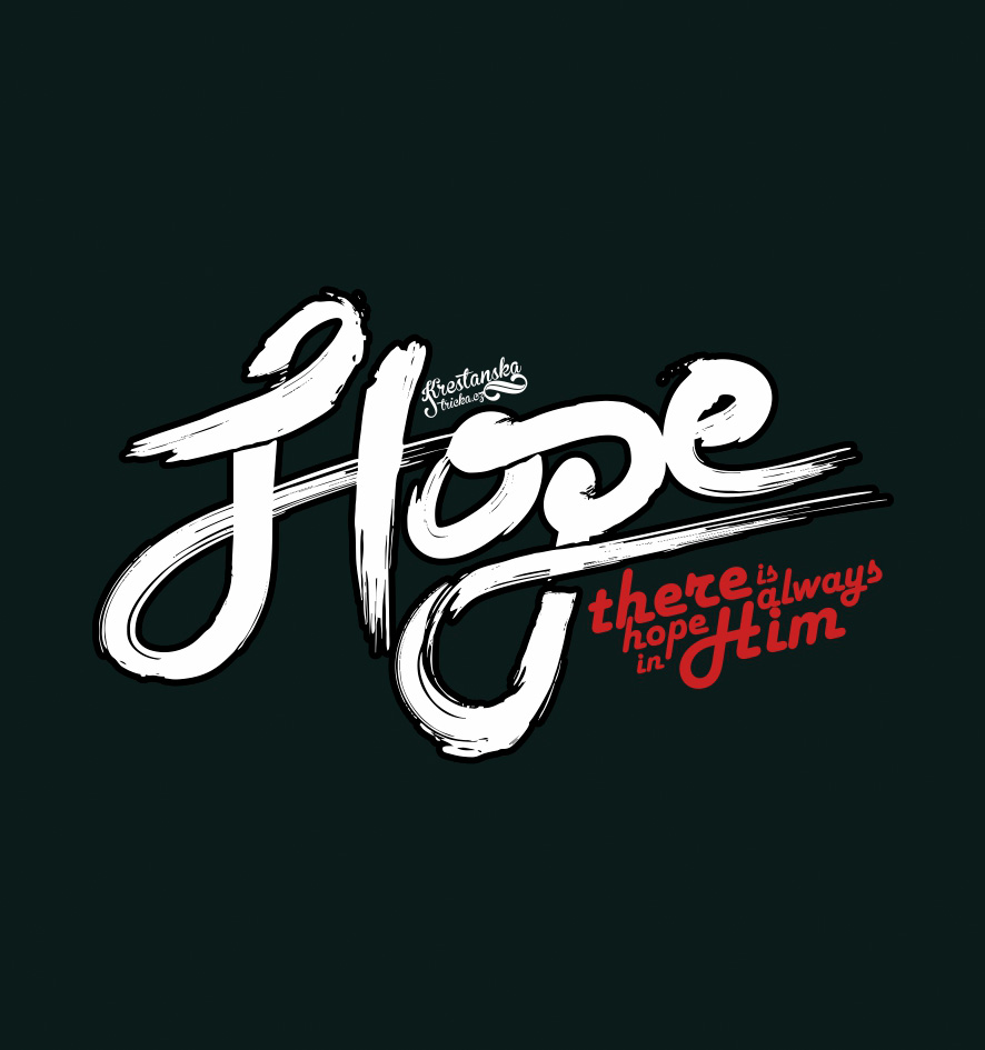 HOPE IN HIM (black)