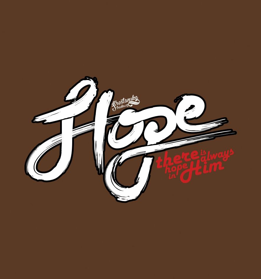 HOPE IN HIM (brown)