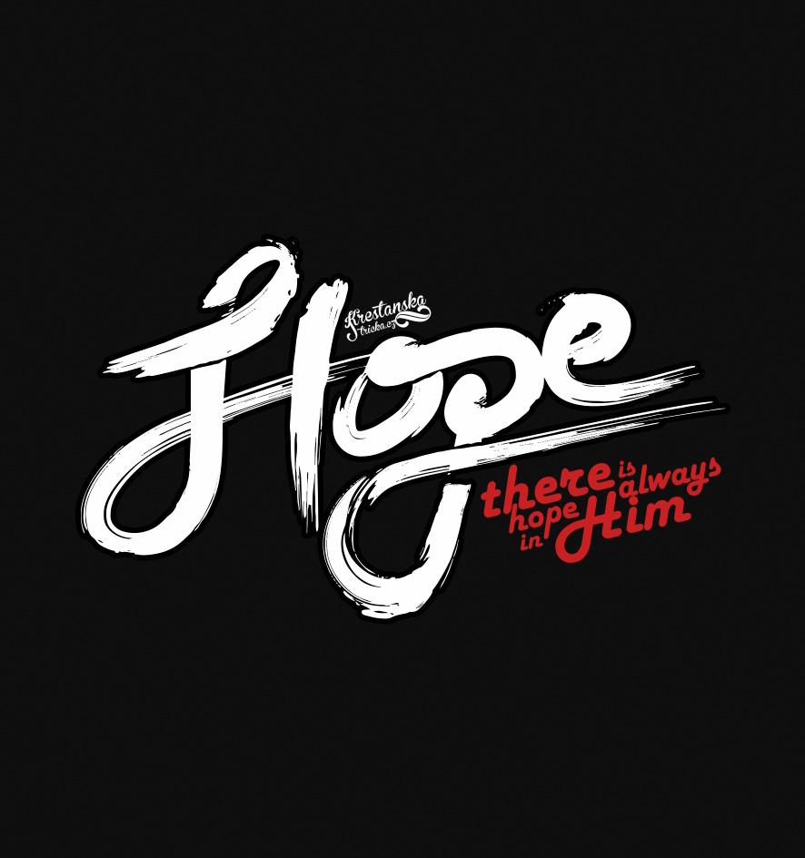 HOPE IN HIM womens sleeveless (black)