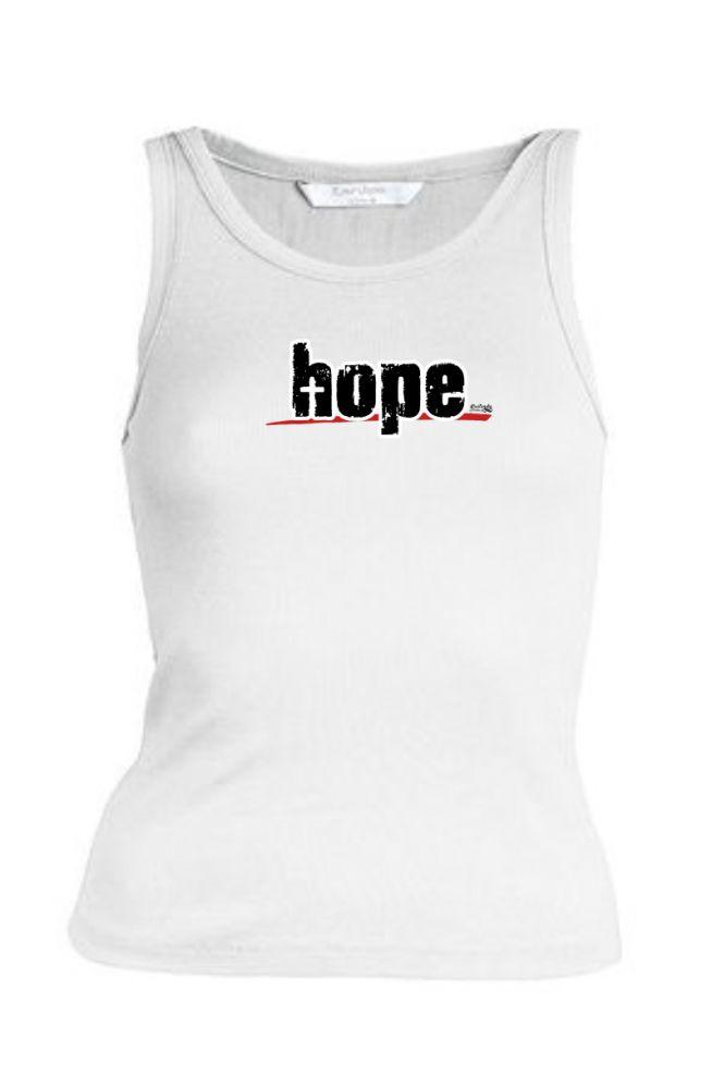 HOPE womens sleeveless (white)