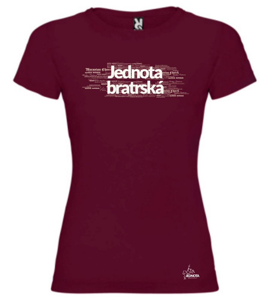 MORAVIAN CHURCH CZ womens (maroon)