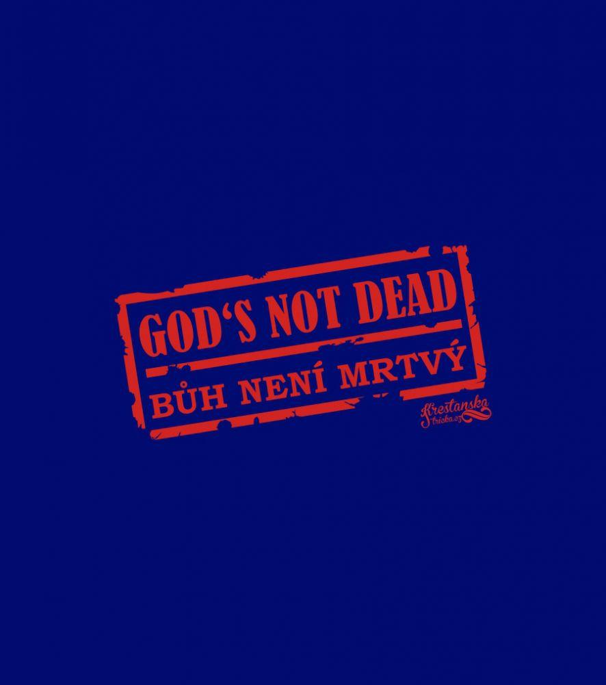 GOD'S NOT DEAD womens (navy)
