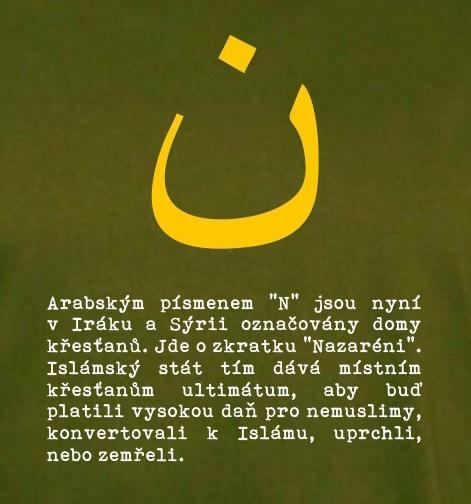 N KŘESŤANÉ V IRÁKU PÁNSKÉ Lahvová zeleň