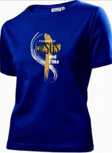 I BELONG TO CHRIST CZ womens (navy)